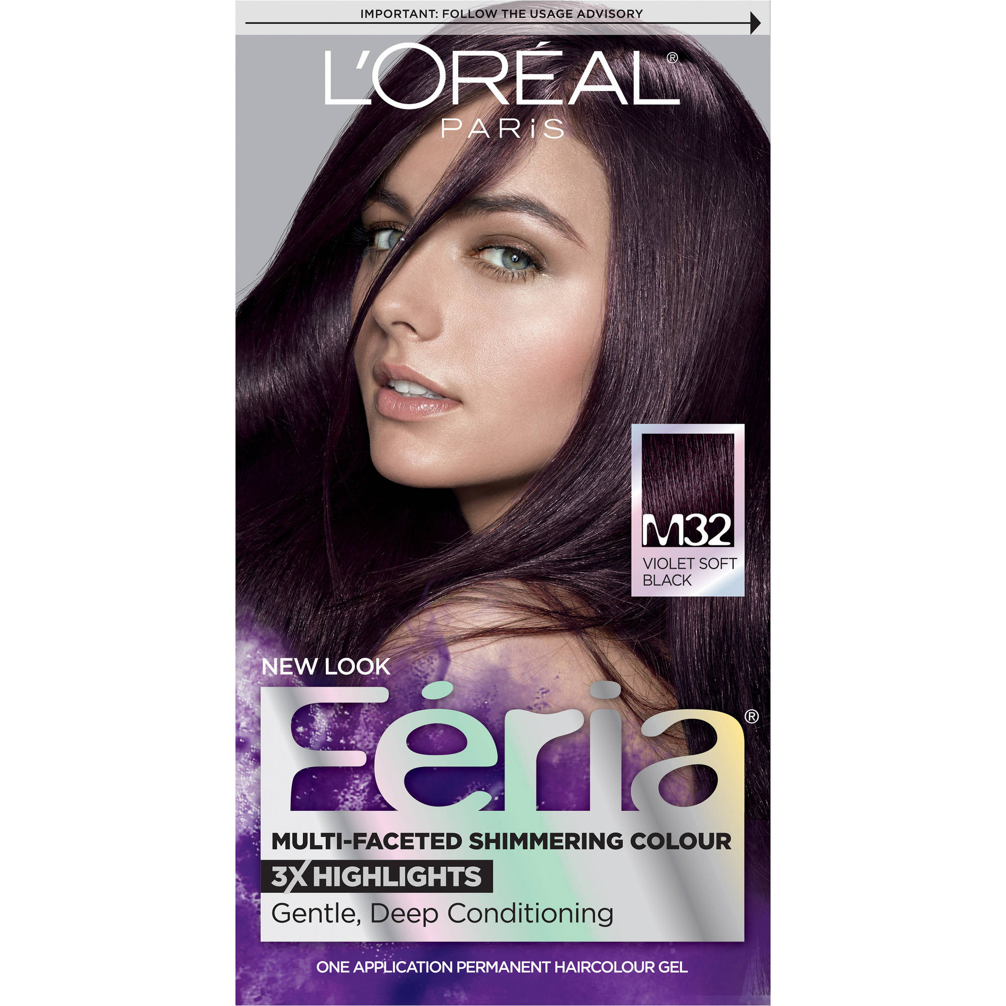 L'Oreal Paris Feria Midnight Collection Hair Color