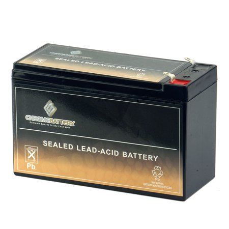 Yuasa Lead Acid Batteries - 12V 7AH Sealed Lead Acid (SLA) Battery by Chrome Battery
