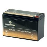 12V 7AH Sealed Lead Acid (SLA) Battery by Chrome Battery