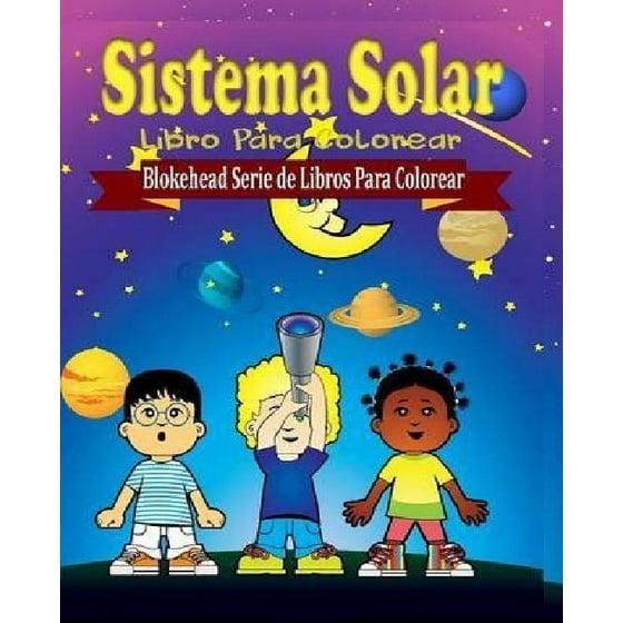 Sistema Solar Libro Para Colorear - Walmart.com