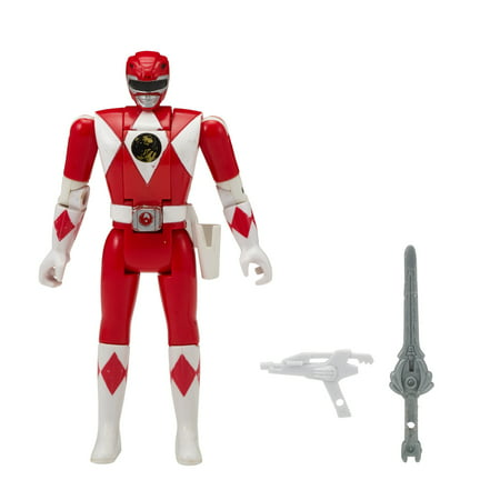 Bandai - Power Rangers Mighty Morphin Head Morph Figure, Red - Power Rangers Jungle Fury Red Ranger
