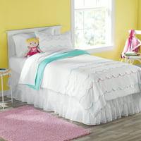 Your Zone Sophia Rainbow Comforter Set Twin
