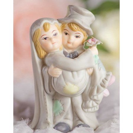 Hobo Wedding Cake Topper, High quality wedding supplies, low prices By Wedding Collectibles - Bag Toppers