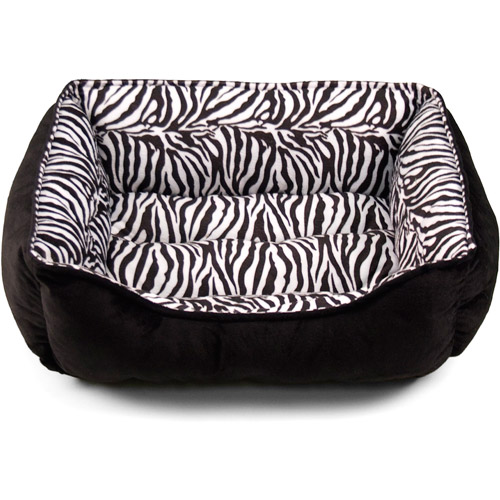 "25"" X 21"" Zebra Print Cuddler"