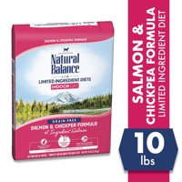 Natural Balance Limited Ingredient Diets Dry Cat Food for Indoor Cats, 10-Pound