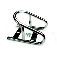 Surco Stainless Steel Wheel Chock High Gloss Silver 3601