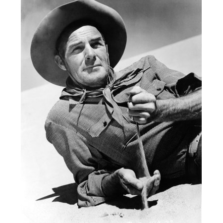 Randolph Scott Ca 1940S Photo Print