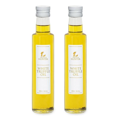 Truffle Hunter White Truffle Oil Double Concentrate, 8.45 oz (Pack of 2)