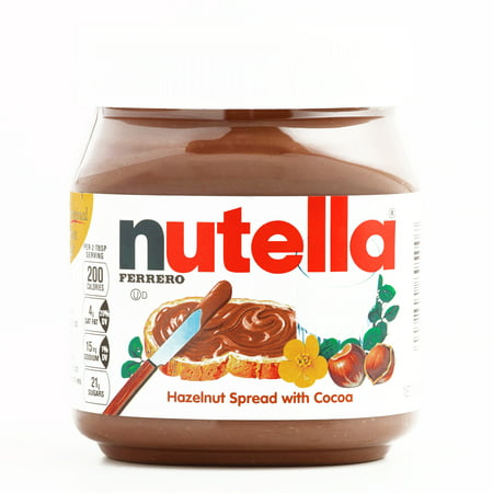 - Nutella Hazelnut Spread 13 oz each (1 Item Per Order, not per case)