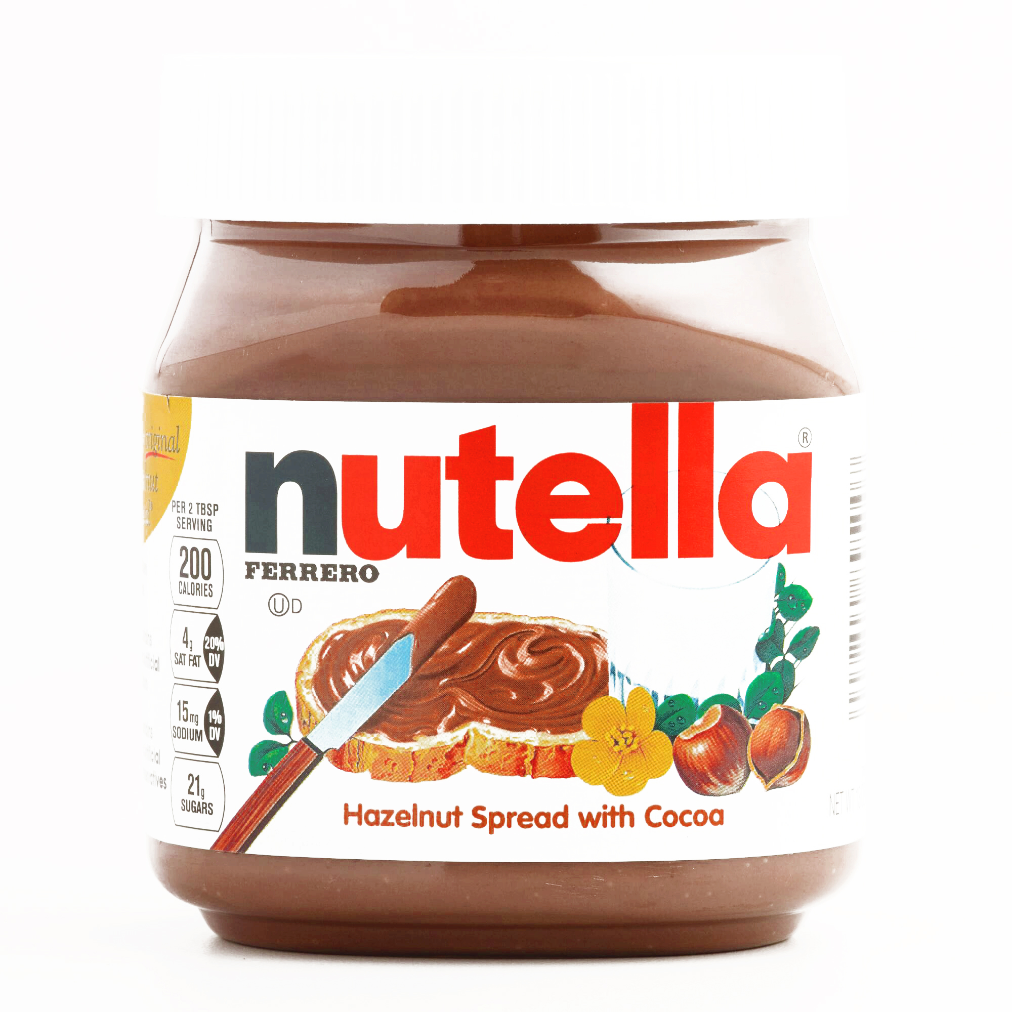 Nutella Hazelnut Spread 13 oz each (1 Item Per Order, not per case)