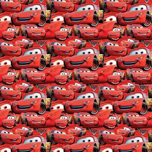 Creative Cuts Packed Lightning McQueen Fabric