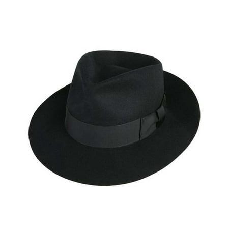 Michael Jackson Black Fedora (Jackson Fedora Hat in Black)
