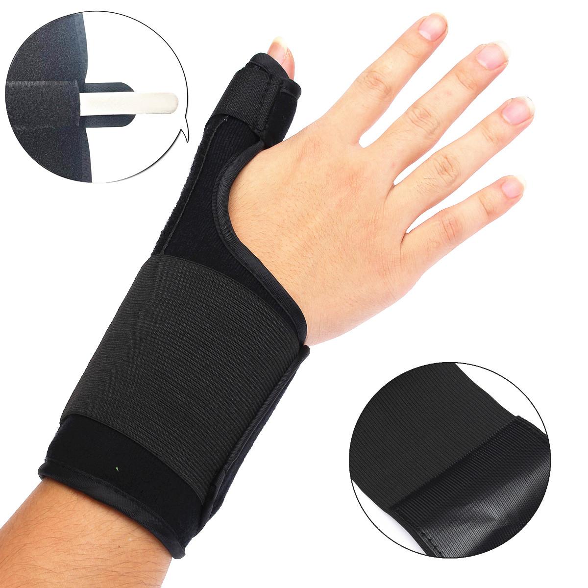 Strains ORTONYX Kids Thumb Immobilizer Brace Thumb Spica Support Splint- Pain Wrist Strap Left and Right Hand // ACJB2303 Carpal Tunnel /& Trigger Thumb Stabilizer Sprains