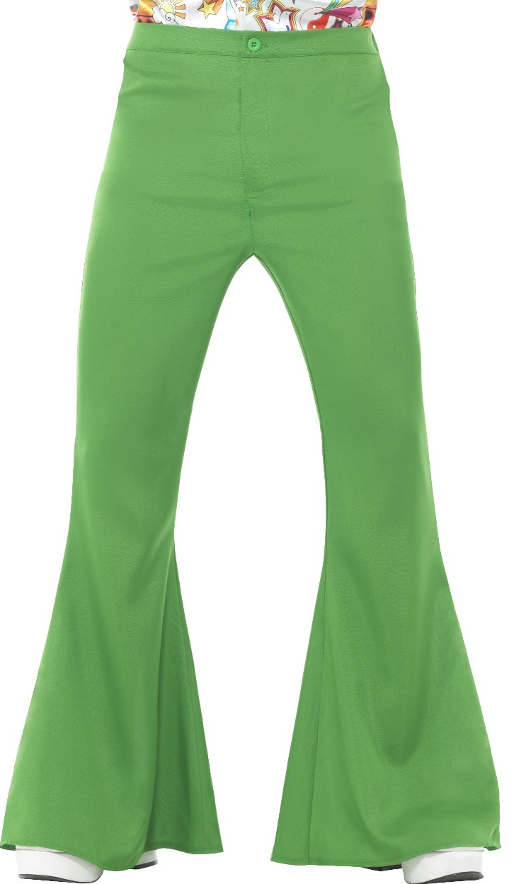 """Mens 70/'s Disco Fever Bright Neon Green Suit Fancy Dress Small Upto 36/"""" Chest"""