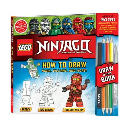 Lego Ninjago   How To Draw Ninja  Villans  And More