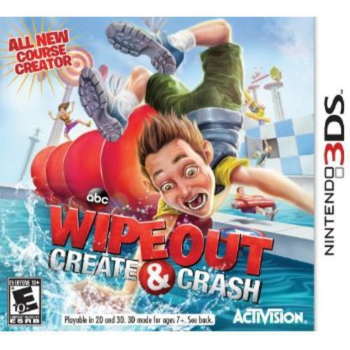Wipeout: Create & Crash (Nintendo 3DS)