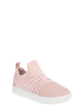 Wonder Nation Bungee Slip-on Fashion Sneaker (Toddler Girls)