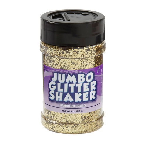 Kids Craft 4 oz Glitter Shaker, Gold