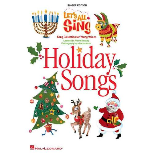 Let's All Sing Holiday Songs: Song Collection for Young Voices