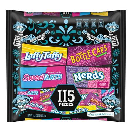 Wonka Nerds (Nestlé - Wonka Mix Ups, Assorted Candy (32 oz. pk.) - Quantity 2 - (Includes assorted Wonka candy, SweeTarts®, Bottle Caps®, Nerds® and Laffy)