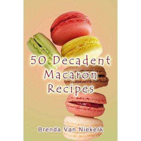 50 Decadent Macaron Recipes - eBook - Halloween Macarons Recipe