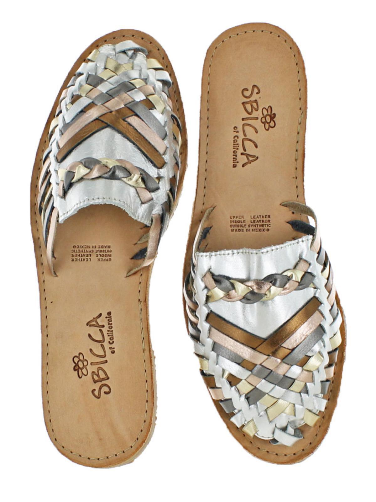 64404ead3a1c Sbicca - Sbicca Womens Baines Closed Toe Vintage Huarache Sandals -  Walmart.com