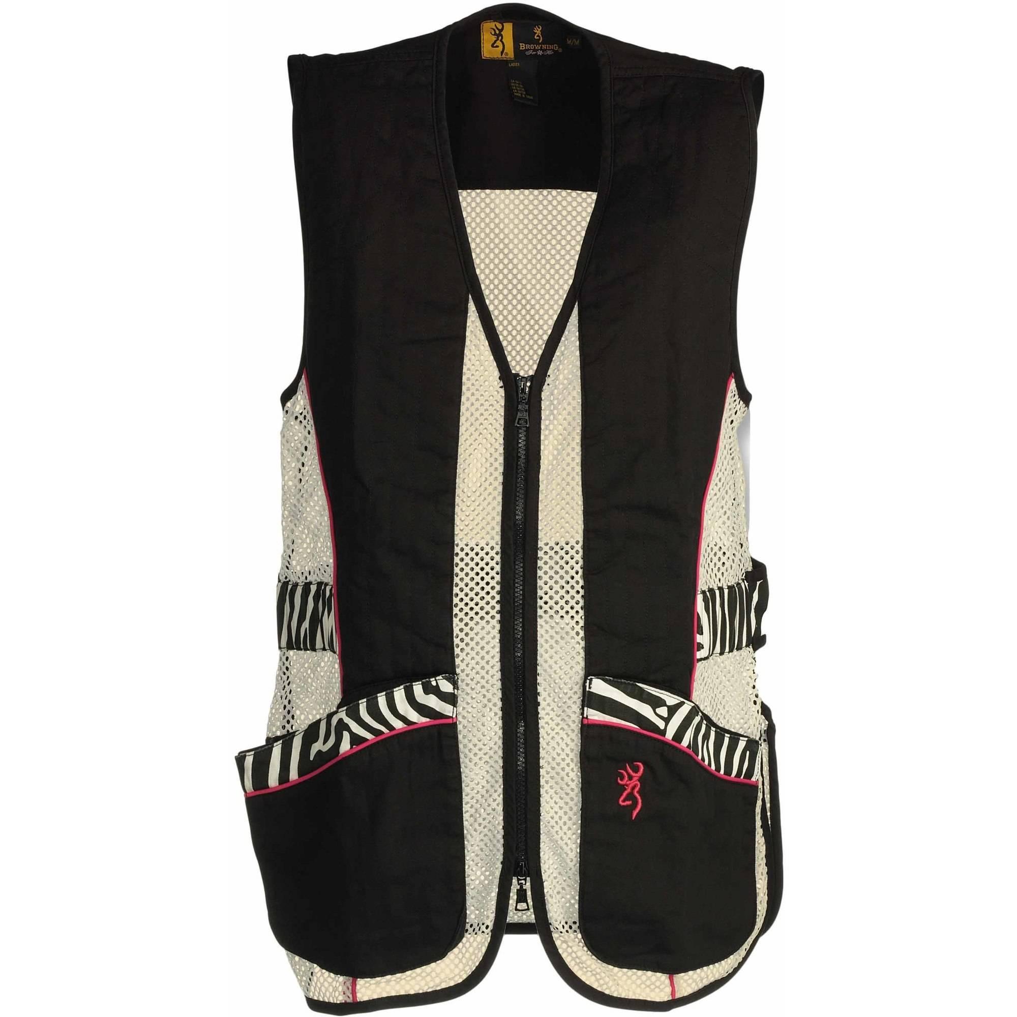 Browning Lady Sahara Black/Zebra Vest