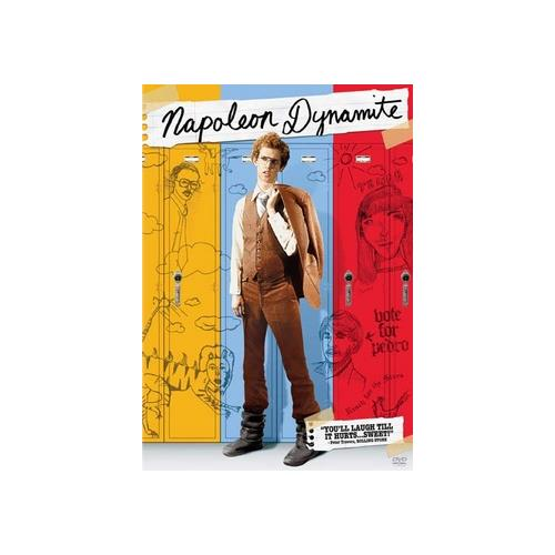 NAPOLEON DYNAMITE (DVD/2 SIDED DISC/SENSORMATIC)-NLA