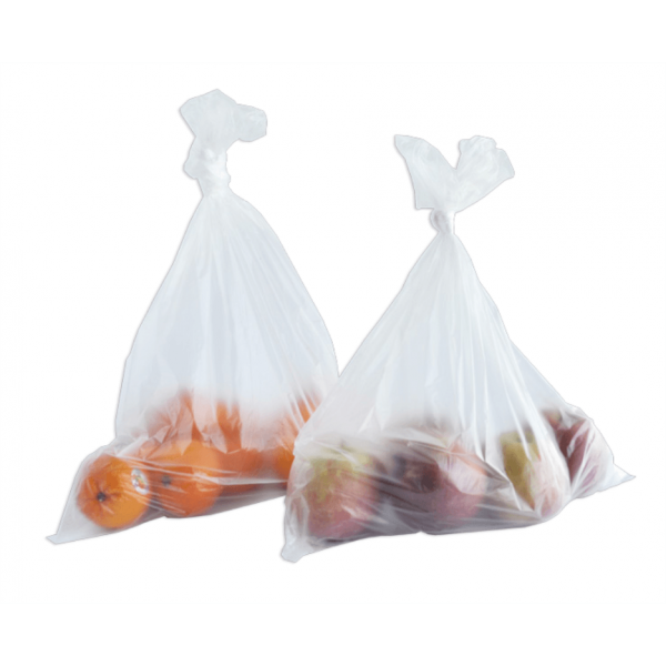 """12000 Bags 16 Rls 12/"""" x 20/"""" Clear Perforated Produce Grocery Supermarket Bag"""