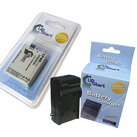 UpStart Battery LP-E5 LC-E5 Replacement Battery and AC/DC Dual Charger Kit for Canon EOS Rebel T1i XSi XS 1000D 450D 500D Kiss F X2 X3 XSI EF-S Digital Cameras