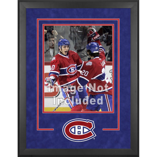NHL - Montreal Canadiens Deluxe 16x20 Vertical Photograph Frame