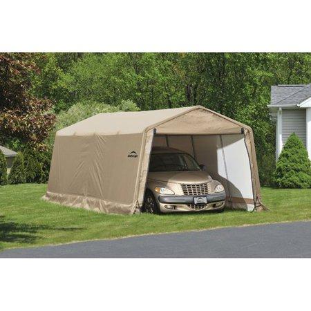Auto Shelter 10 X 20 X8 Peak Style Instant Garage
