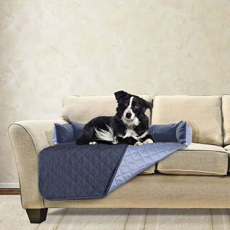 Awesome Furhaven 49301015 Medium Sofa Buddy Pet Bed Furniture Cover Machost Co Dining Chair Design Ideas Machostcouk