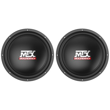 "(2) MTX Audio Terminator TN12-04 12"" 800 Watt 4 Ohm Car Subwoofers Subs"