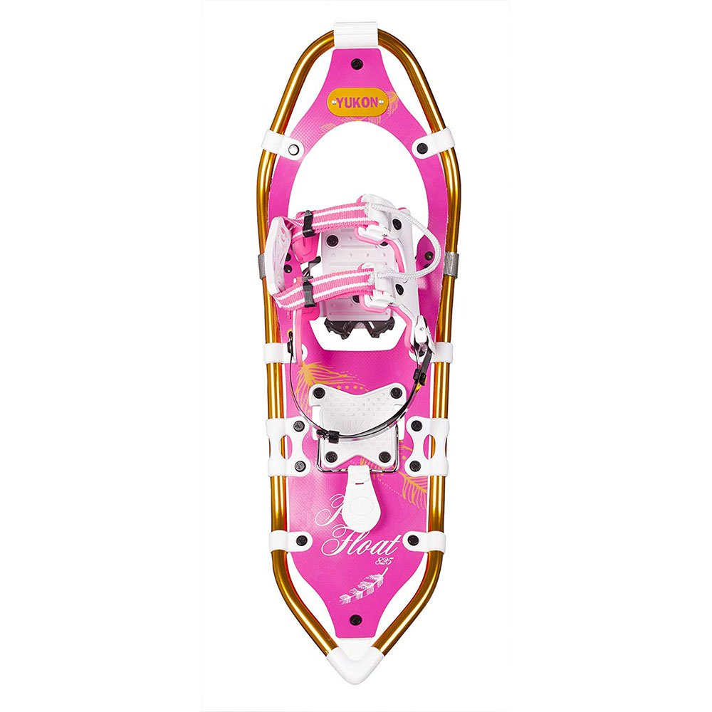 "Yukon Charlie's Pro Float 8"" x 25"" Durable Backcountry Hiking Snowshoes, Pink by Yukon Charlie's"