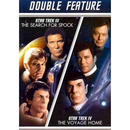 Star Trek III: The Search For Spock / Star Trek IV: The Voyage Home (DVD)