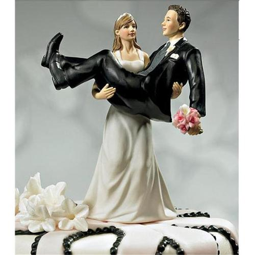 Weddingstar 9020 ''To Have and to Hold''- Bride holding Groom Figurine