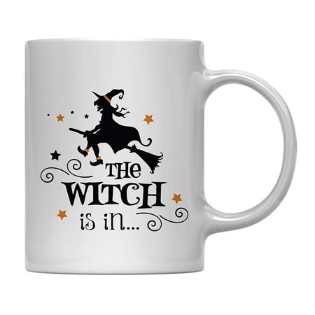 Andaz Press 11oz. Coffee Mug Gift, The Witch is in, Halloween October Present Ideas with Gift Box](Halloween Appetizers Ideas)