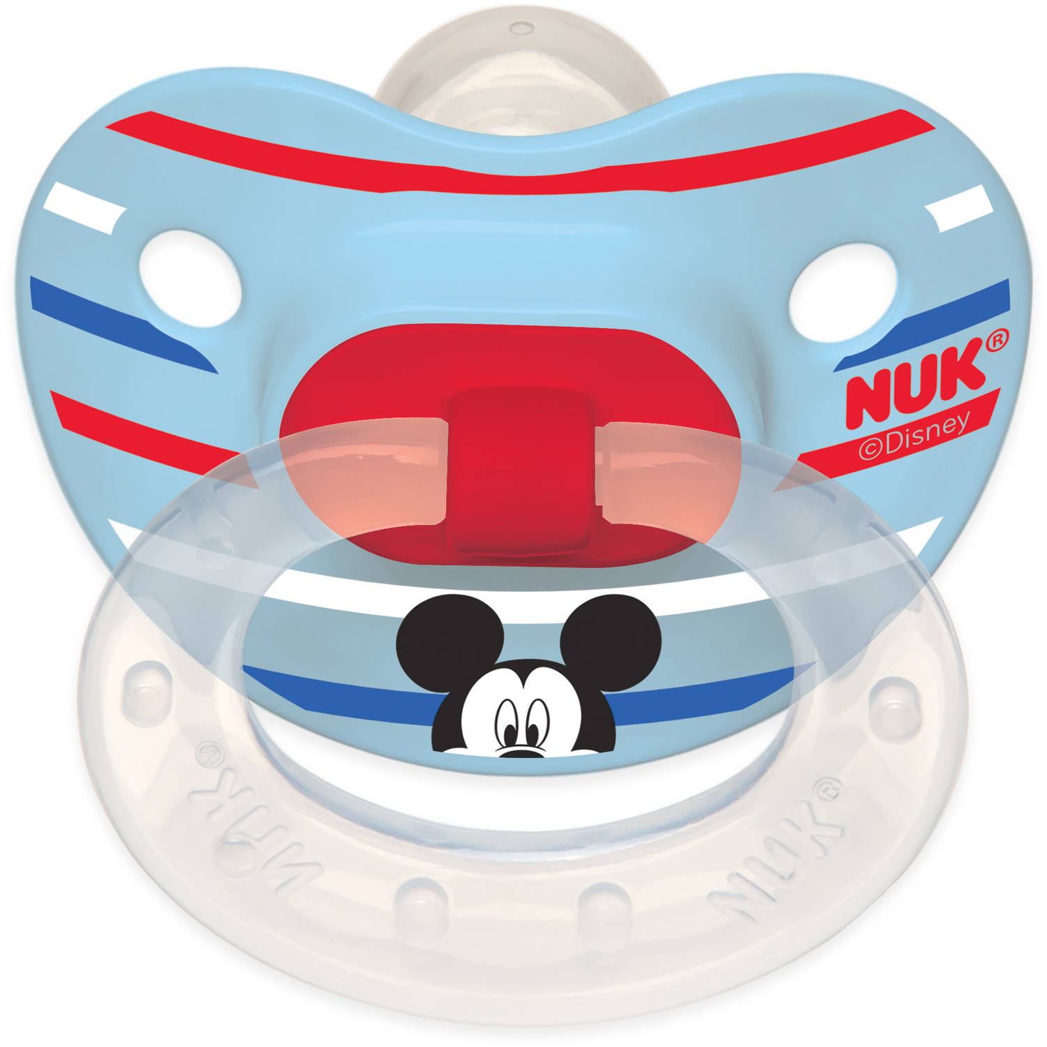 Nuk Disney Mickey And Minnie Mouse Puller Pacifier Bpa Free 6 18