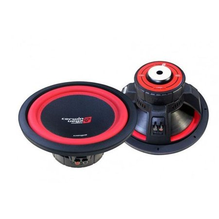 Cerwin Vega V122DV2 2 Ohm 1300W Dual 12 in. Vega Series Car Subwoofers