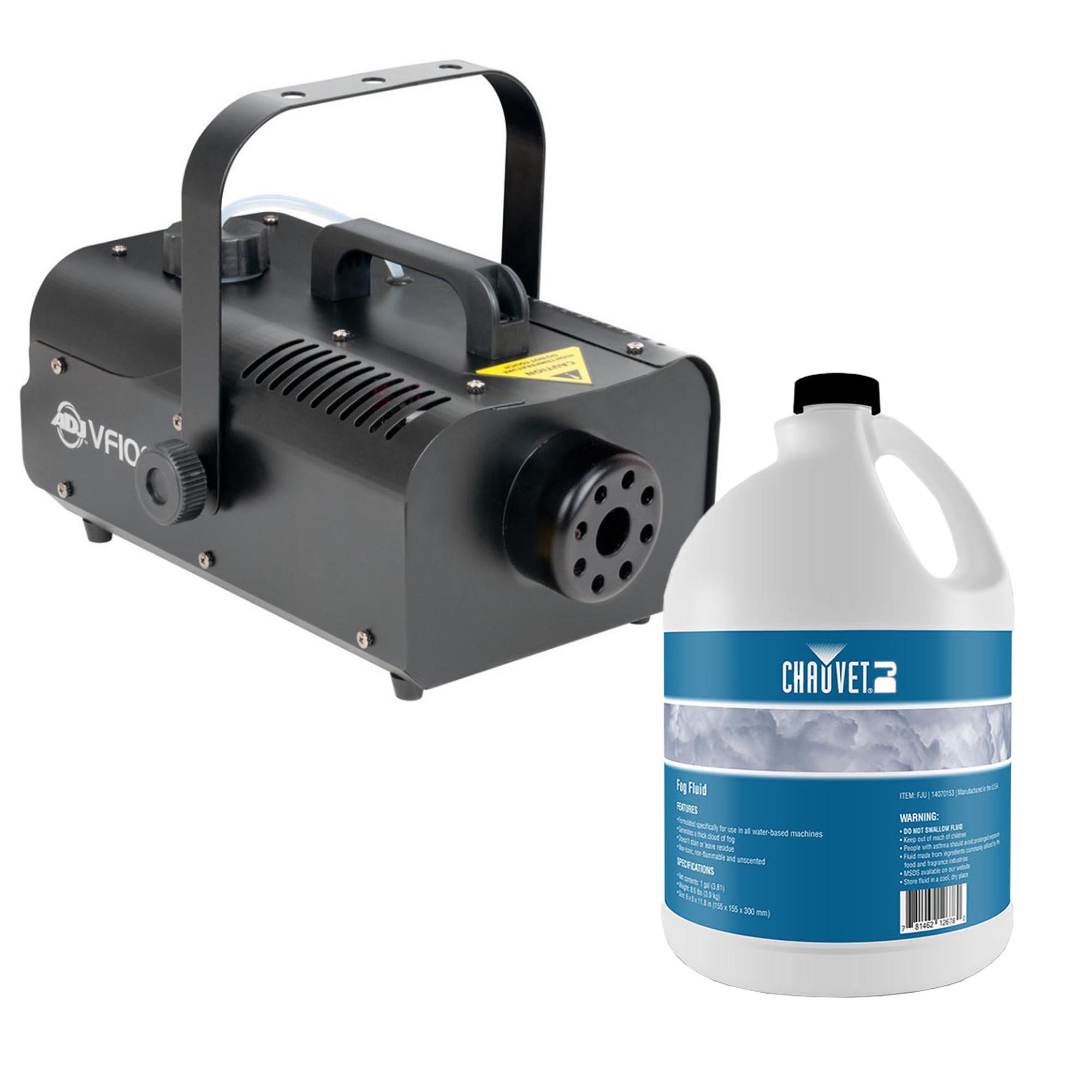 American DJ VF1000 Medium Duty Smoke Fog Machine w/ Remote + Bottle of Fog Juice