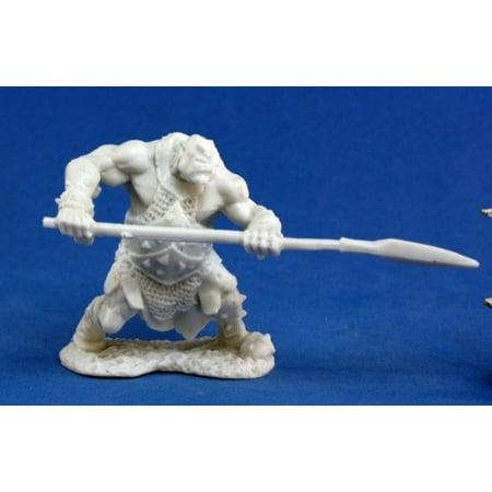 Reaper Miniatures Orc Hunter (Spear) #77045 Bones Unpainted Plastic Mini Figure