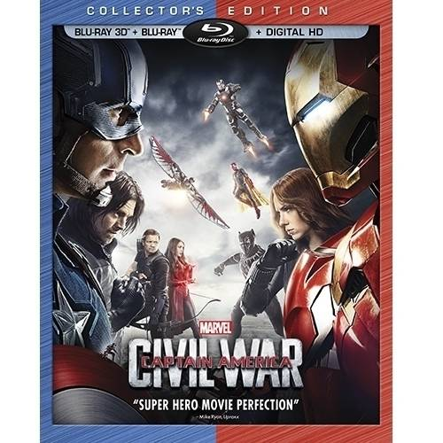 Captain America: Civil War (3D Blu-ray + Blu-ray + Digital HD)