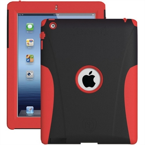 Refurbished Trident Aegis Case for Apple iPad 2/3/4, Red (AG-NEW-IPAD-RD)