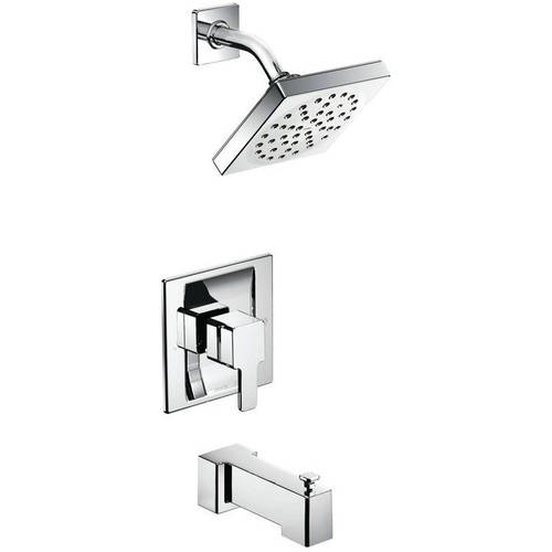 Moen TS2713 90 Degree Bath and Shower Faucet with Posi-Temp Pressure Balanced Trim, Available in Various Colors