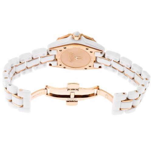 90926684e Accutron - Accutron By Bulova Women's Mirador Diamond 65R140 White ...