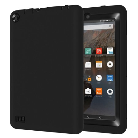 TKOOFN Double Layer Rugged Shockproof Protective Cover Case For Amazon Fire 7