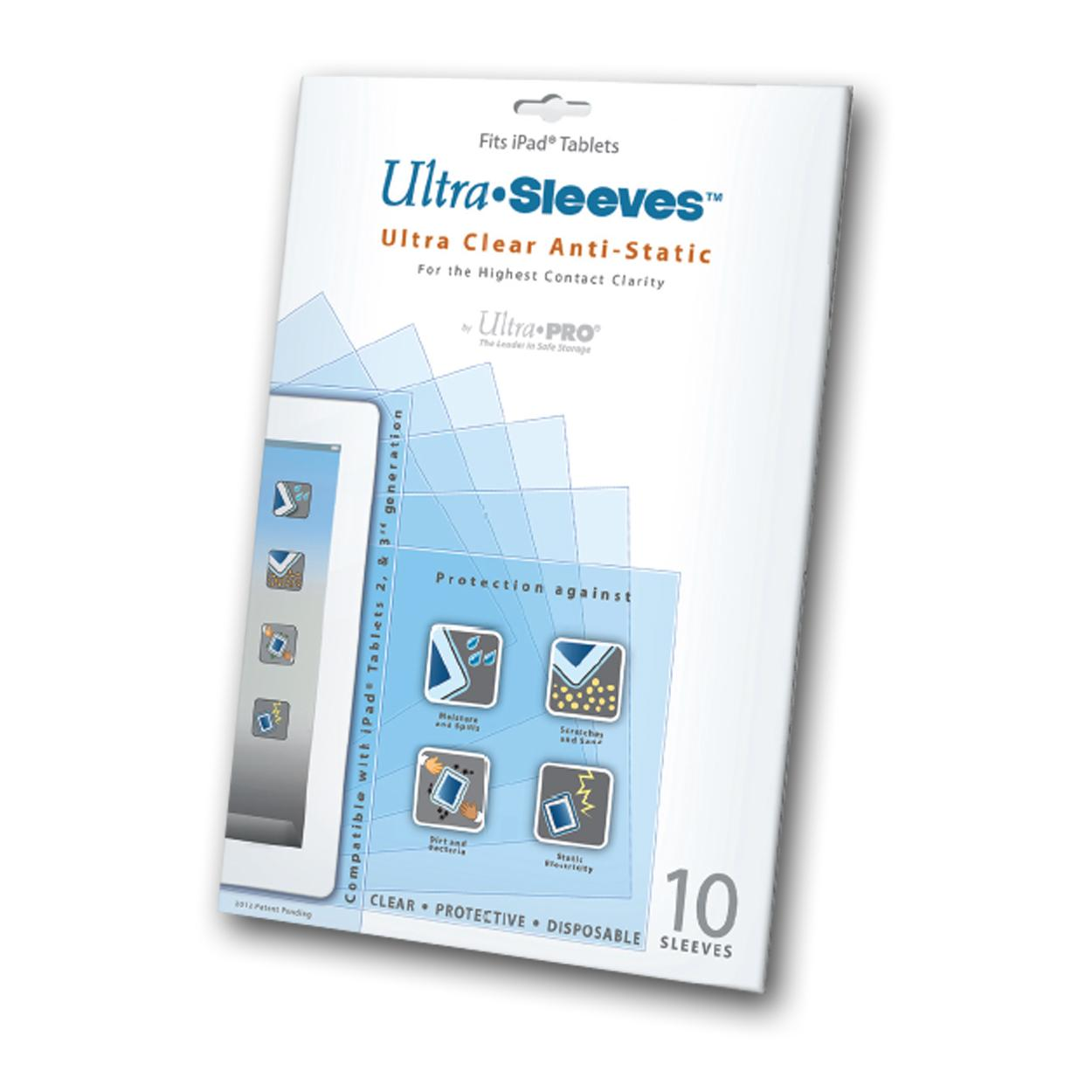 Ultra Pro Disposable Ipad Sleeves (10/Pack) UP72000