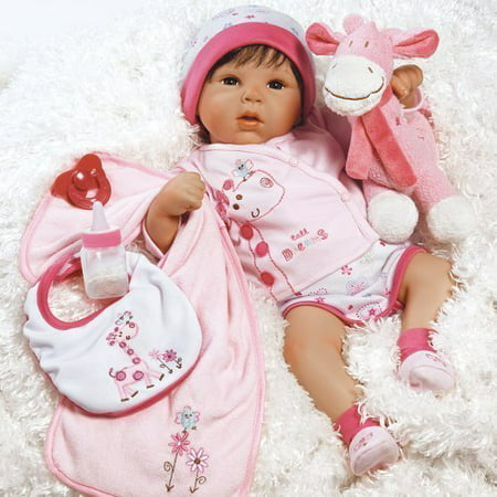 Paradise Galleries Reborn Baby Doll Girl Tall Dreams Gift