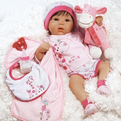 "Paradise Galleries Lifelike Realistic Soft Vinyl 19 inch Baby Girl  Doll Gift ""Tall Dreams Ensemble"" Great to Reborn"